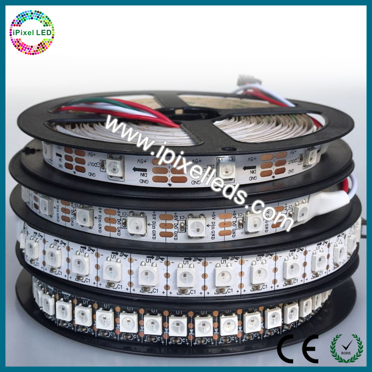 Programmable rgb WS2811 WS2812B 144 led pixel strip