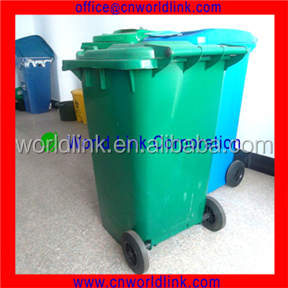 With EN840 240L Outdoor Eco-Friendly Wheeled Recycling Bin Stand