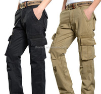New Collection High Quality Men Casual Work Cargo Pants