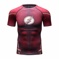 2016New Arrival The Big Bang Theory The Flash Men T Shirt Design Personalized Male Casual Tee Shirts Top Polyester Custom shirts