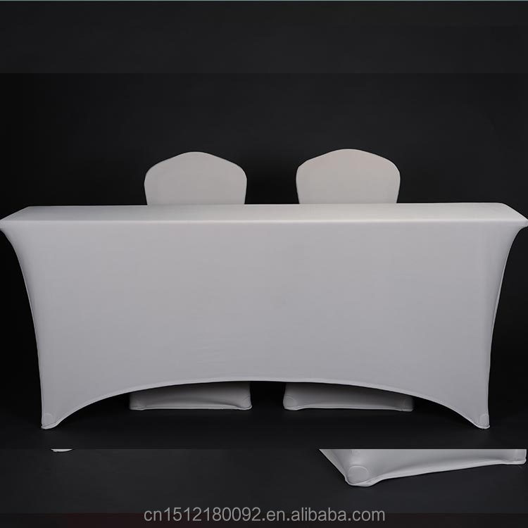 Wedding/Banquet White Spandex Table Covers Chair Cover