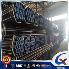 Astm A53 API 5L Black carbon seamless steel pipe manufacture in China