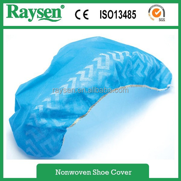 disposable CE standard shoe cover with antiskid