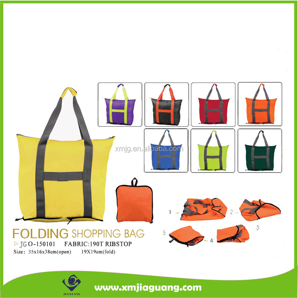 Hot Sale Cheap Price New Fashion Folding Shopping Bag