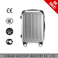 4 spinner wheels travel luggage suitcase & ABS trolley case