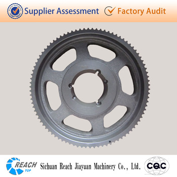 high quality cast iron timing belt pulley made in China