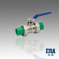 ERA PPR True Uinon Ball Cock ( PP-R Pipes & Fittings FOR COLD/HOT WATER)
