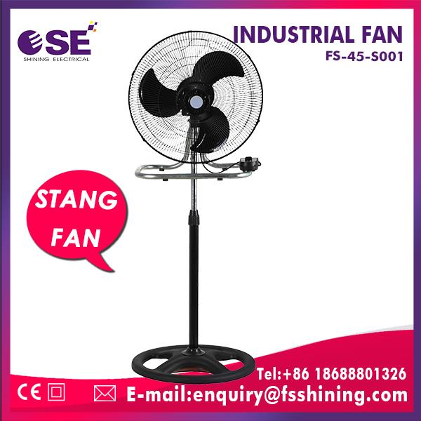 75W industrial mist fan pedestal fan with air cooler line grill with rim