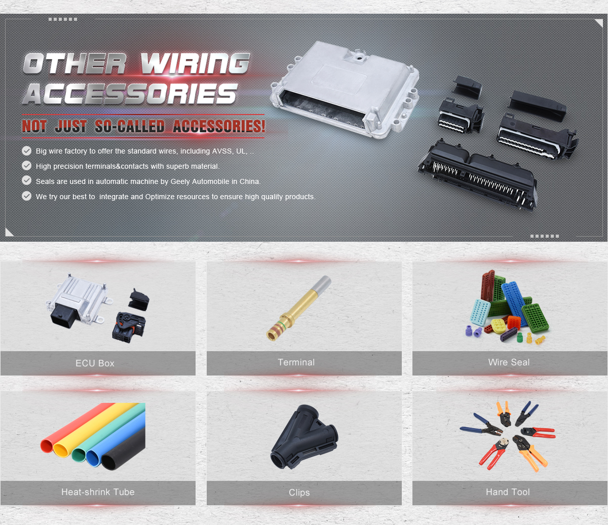 Yueqing Kinkong Electric Co Ltd Automotive Connector Wiring Fuse Box Terminals Product Showcase