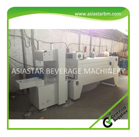 Semi-automatic plastic film shrink wrapping machine/ shrink packaging equipment