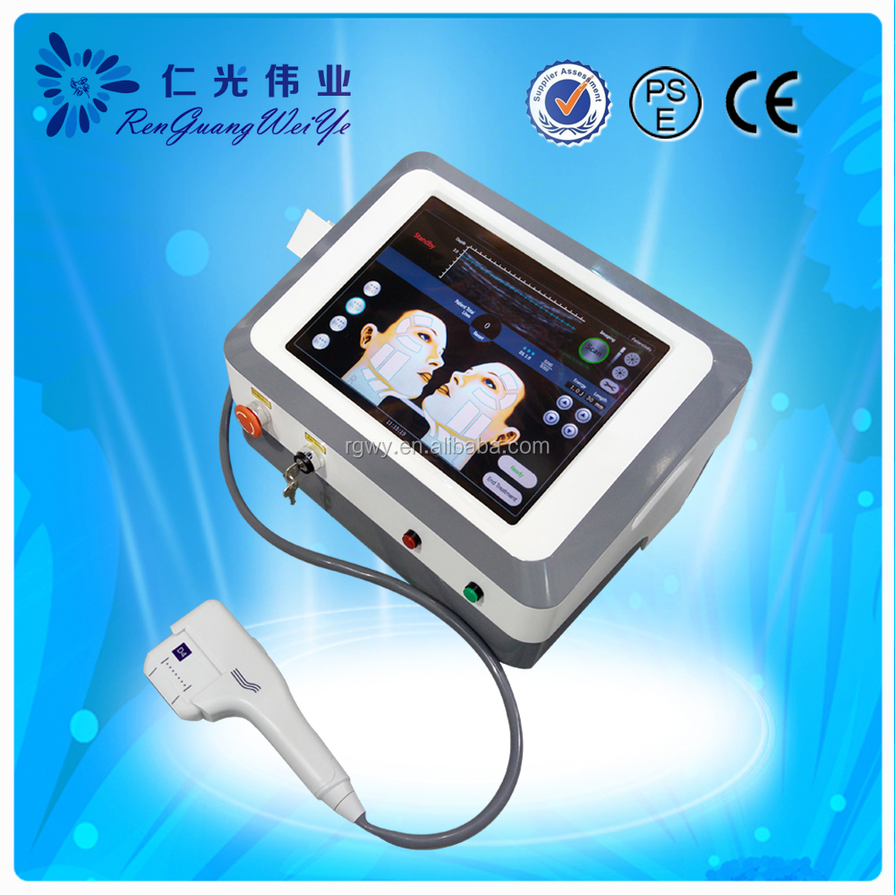 New ultrasound technology hifu wrinkle removal at home skin tightening machine