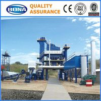 Asphalt Melting Automatic Burner 120t/h road Asphalt Plant For Premix