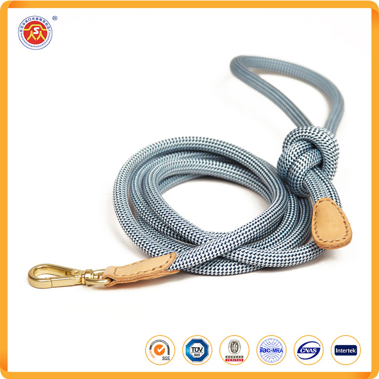 High quality nylon 48 inch dog leash collar for training ropes pet dog lead