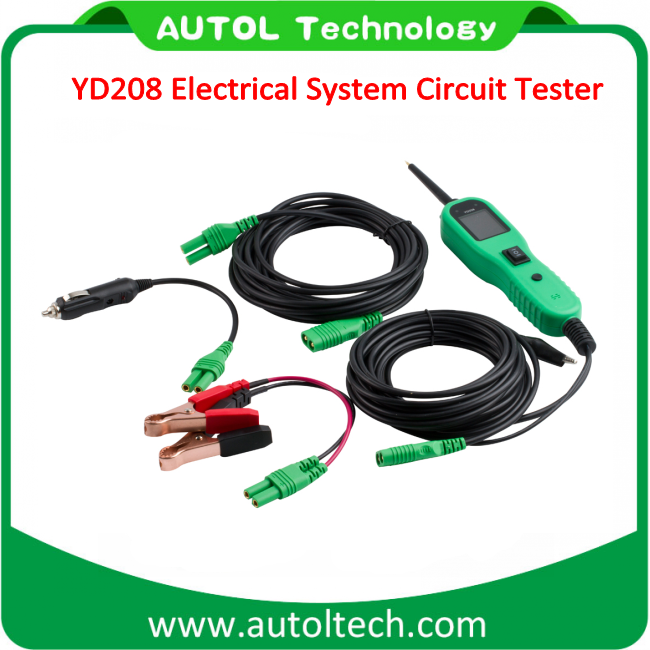 Autek PowerScan YD208 Car Electric Circuit Tester Meter Diagnostic Autel PS100 automotive circuit tester yd208
