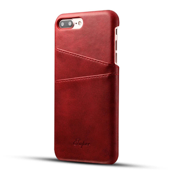 PU leather phone case for iphone7 with card holder