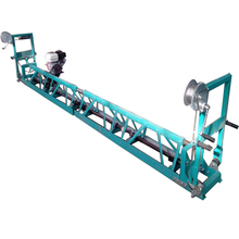 Super Efficient Frame Type Gasoline Concrete Floor Leveling Machine/Vibratory Truss Screed Concrete Smoother
