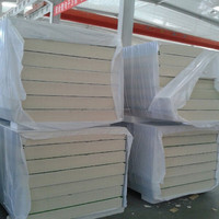 PU sandwich panels with Continuous production made in china