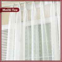 metal hanging curtain tie back,metal mesh fabric drapery curtain,double layer voile window curtain products banquet