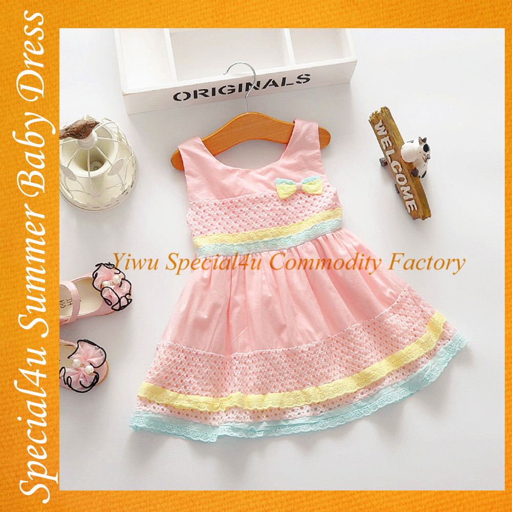 Fashion hand made baby girl dress lovely girls party dresses the latest fashion dresses SA-688