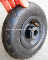 200mm Small Pneumatic tires wheel 200x50 pneuamtic wheel