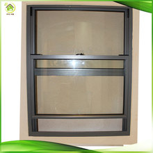 Aluminum Stadard size tempered glass windows /windows australian standard vertical sliding window
