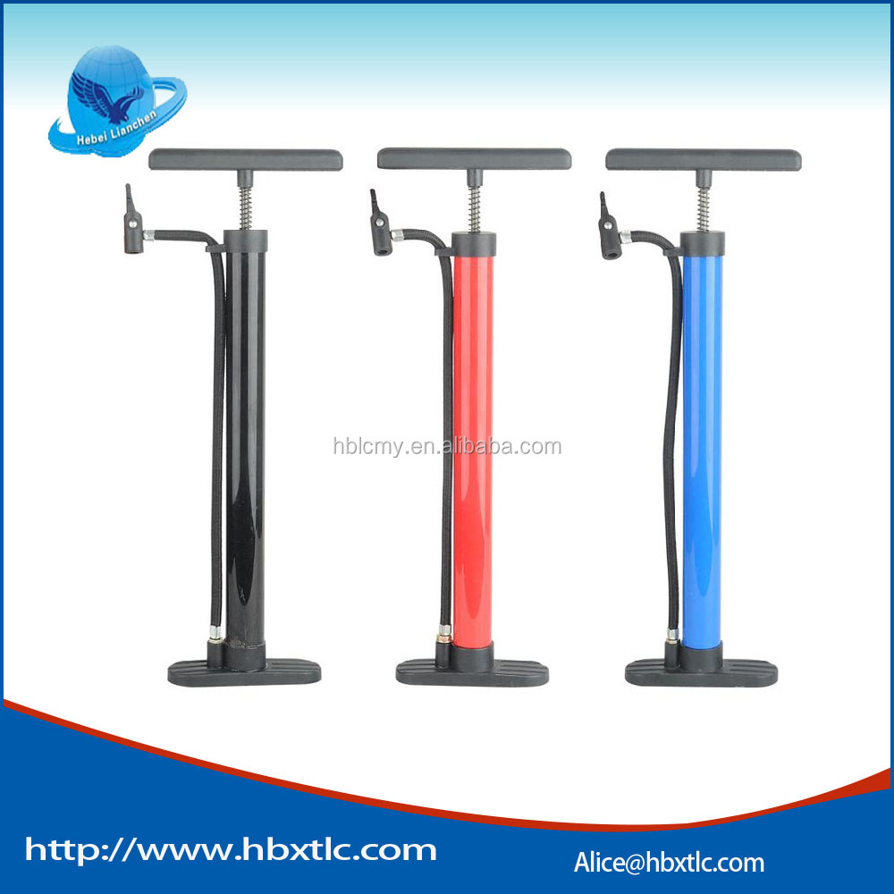 2016 china factory metal bike pump with high quality mini bicycle pump