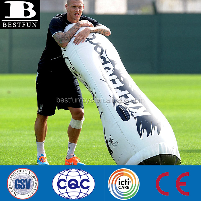 Top quality heavy duty Inflatable soccer mannequin plastic movable mannequin folding teengae mannequin