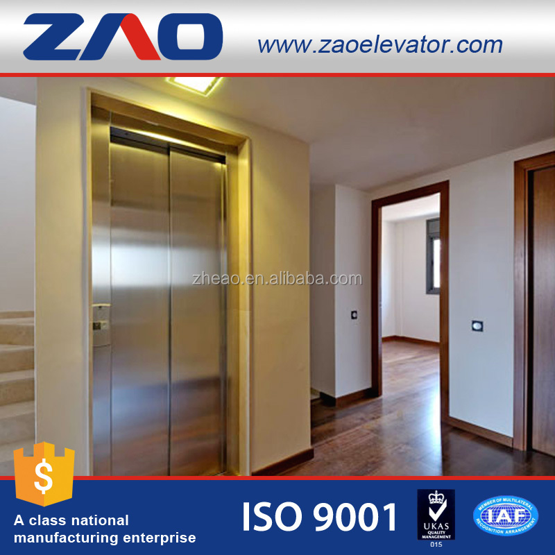 Cheap Indoor Sightseeing Home Elevator/Residential Lift/Passenger Lift