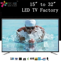 OEM Full HD TV 15 17 19 22 24 32 42 50 55 60 inch LED TVs with build-in Smart LED TV