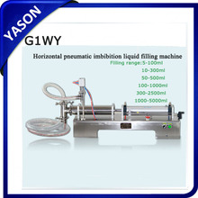Factory price for pneumatic single head 100-1000ml liquid filling machine air pressure 0.4MPa