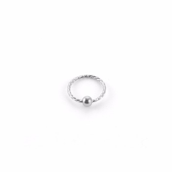 2017 new style stainless steel CBR jewelry captive bead nose ring