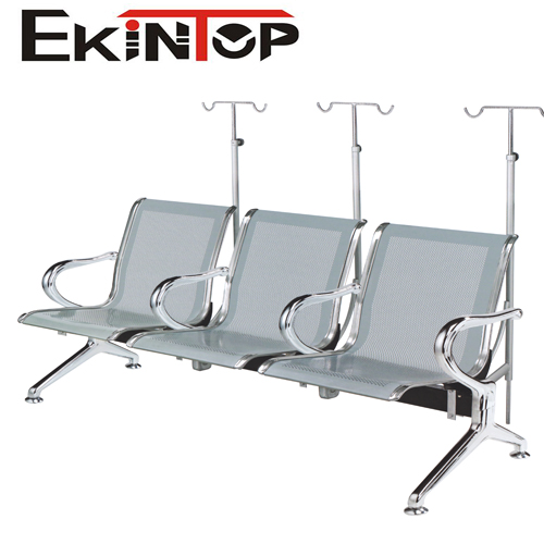 Factory supplier 3-seater bench hospital waiting chairs for patients