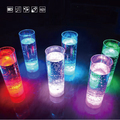 Battery changeable color changing shot glass cylindrical cup