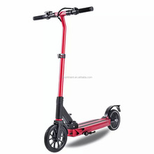 2 wheel green power electric scooter adults kick scooter