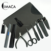 wholesale nail clipper cuticle nipper manicure scissors tweezer mens durable coating manicure set titanium with sleeve