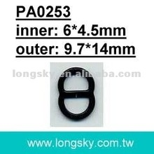 Nylon Coated Sewing Underwear Slider for Bra or Swimwear (PA0253/6mm inner)