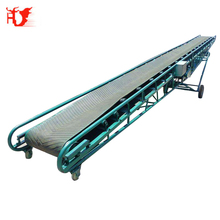Oem supply 10meters long moving belt conveyor machine for industrial ore