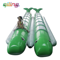 made in China sport toy inflatable 12 persons banana boats hire