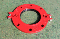 UL/FM Approved Ductile Iron Grooved split flange,water supply sewage usage