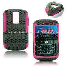 Mesh Combo Cell Phone Case for Blackberry Bold 9000