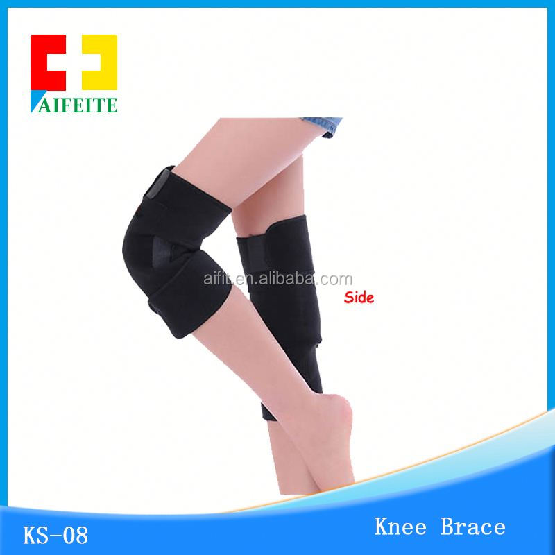 Far-infrared tourmaline knee support/brace/pad