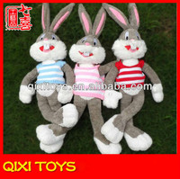 Kids stuffed soft bugs bunny toy plush toy bugs bunny