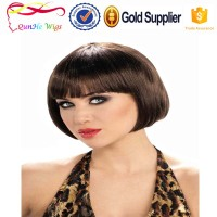 Customized bulk short bobo synthetic hair wig extensions accessories for women