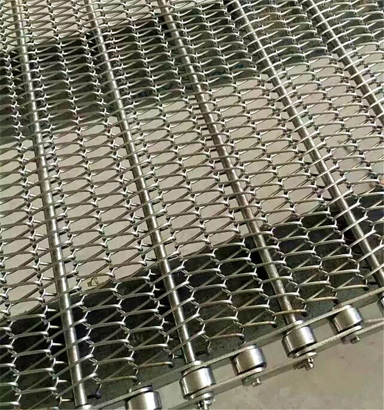 Professional customize food industry stainless steel chain conveyor belt mesh and sprocket wheel