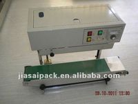 continuous induction cap sealer FRD900 constant heat sealer poly bag sealer