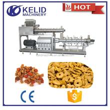 China supplier dry pellet pet dog food machine