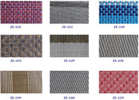 Outdoor acrylic fabric with 30% pvc coated and 70% polyester material