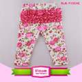 Adorable Kids Girls Icing Pants Floral Soft Cotton Baby Icing Ruffle Pants 0-8Y