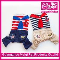 New design summer hot pet clothes unique dog summer overall dog clothes cheap