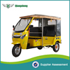 2016 6 passenger electric auto battery tricycle rickshaw